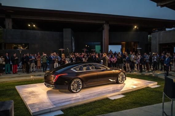 Le prototype Escala Concept a été dévoilé le 18 août lors de la Semaine automobile de Monterey, en Californie. (photo : cadillac)