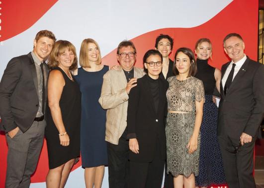 L'équipe du film <em>Pays</em> (Le Soleil, Caroline Grégoire)