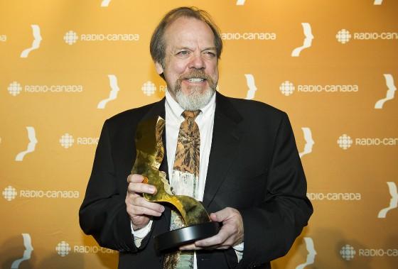 Guy Nadon a remporté la statuette deMeilleur premier rôle masculin : série dramatique annuelle, pour O'. (Photo La Presse Canadienne)