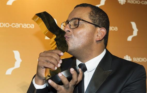 La catégorie Meilleure animation : jeunesse a valu àGregory Charles une statuette pour l'animation de Virtuose. (Photo La Presse Canadienne)