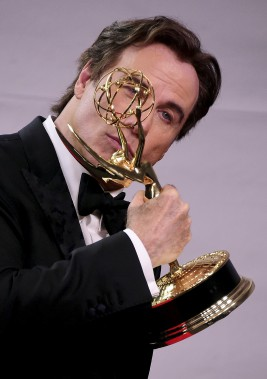 John Travolta, gagnant pour The People v. O. J. Simpson: American Crime Story (AFP)