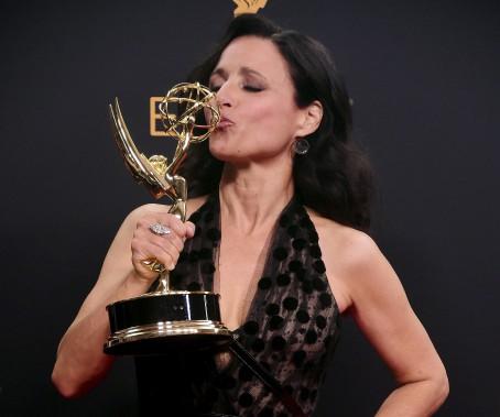 Julia Louis-Dreyfus, meilleure principale actrice dans une comédie pour Veep (AFP)