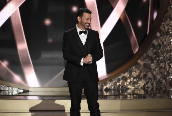 Jimmy Kimmel, l'animateur de la soirée (AP)