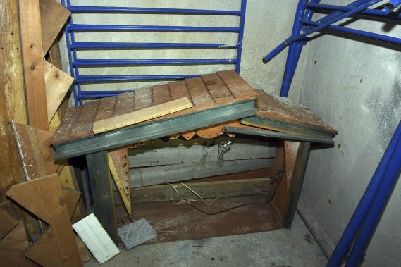 On a même trouvé une vieille crèche. (Photo Le Quotidien, Rocket Lavoie)