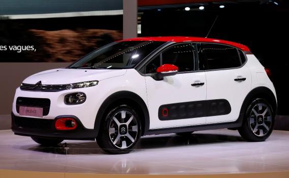 Une Citroën C3 montrée au Mondial de l'Automobile. (REUTERS)