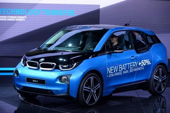 BMW promet une autonomie accrue de 50 % pour la i3. (AFP)