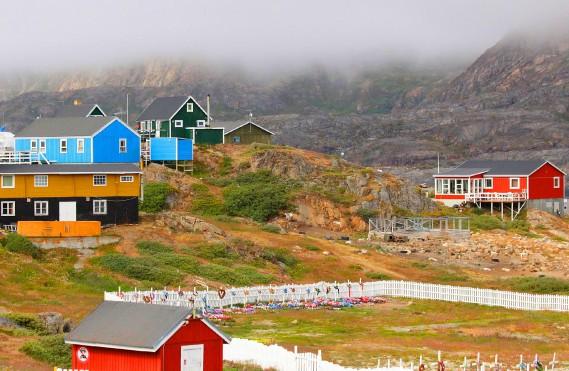 Sisimiut est la deuxième plus grande ville du Groenland après Nuuk, la capitale. (Crédit photo: Sarah-Émilie Nault)