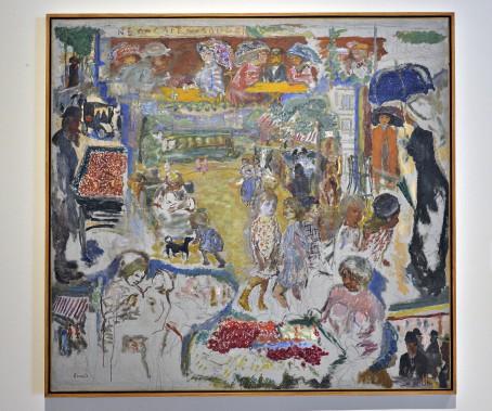 <i>Scène de rue</i>, 1905. Huile sur toile, 157 x 173 cm (Le Soleil, Patrice Laroche)