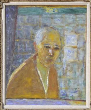<i>Autoportrait</i>, 1945. Huile sur toile, 56 x 44 cm (Le Soleil, Patrice Laroche)