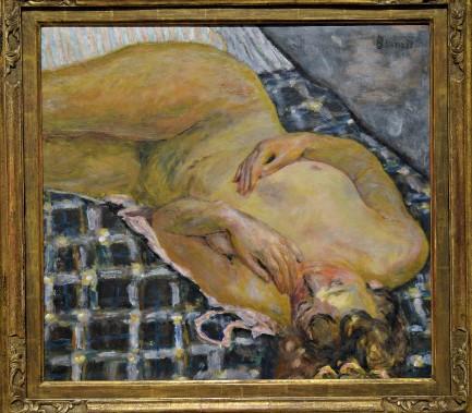 <i>Nu couché, fond de carreaux blancs</i>, 1909. Huile sur toile, 60 x 65 cm (Le Soleil, Patrice Laroche)