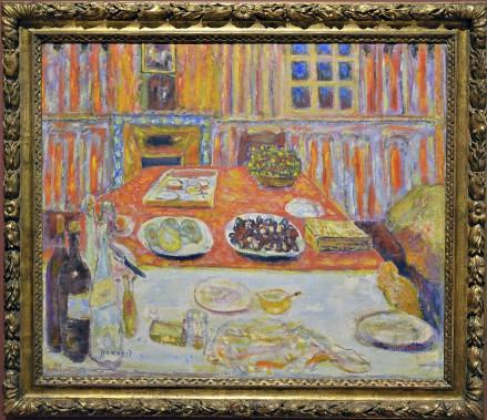 <i>Intérieur, salle à manger</i>, 1942-1946. Huile sur toile, 84 x 100 cm (Le Soleil, Patrice Laroche)