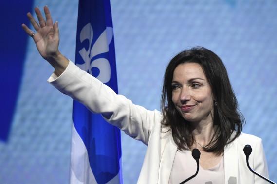 Martine Ouellet a attiré respectivement 16 puis 18% des voix. (PHOTO BERNARD BRAULT, LA PRESSE)