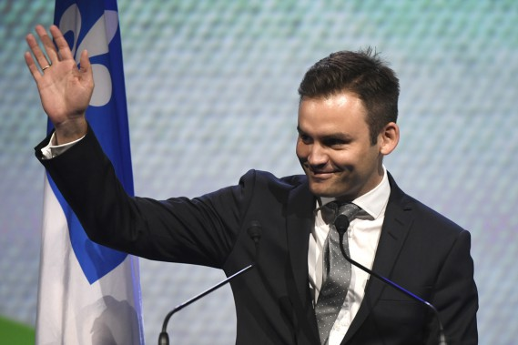 Paul Saint-Pierre-Plamondon a été éliminé au premier tour avec 7% d'appui. (PHOTO BERNARD BRAULT, LA PRESSE)