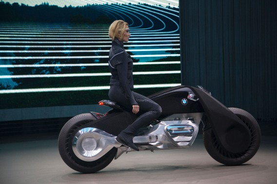 BMW présente sa moto du futur