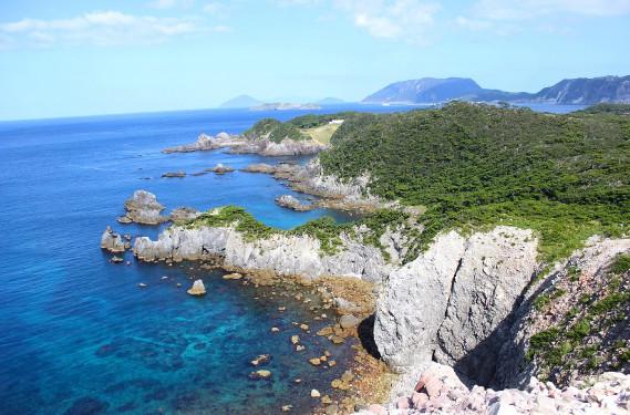 Du belvédère Kanbiki, la vue sur le parc, la mer et les côtes rocheuses est spectaculaire. (Crédit photo: Sarah-Émilie Nault)