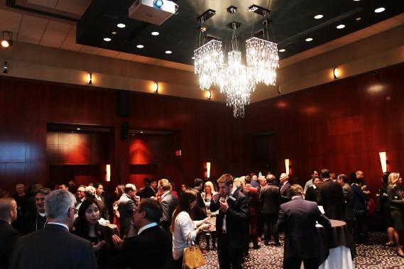 Le lancement du magazine s'est déroulé au Salon Royal du Casino du Lac-Leamy mardi soir. (Etienne Ranger, LeDroit)