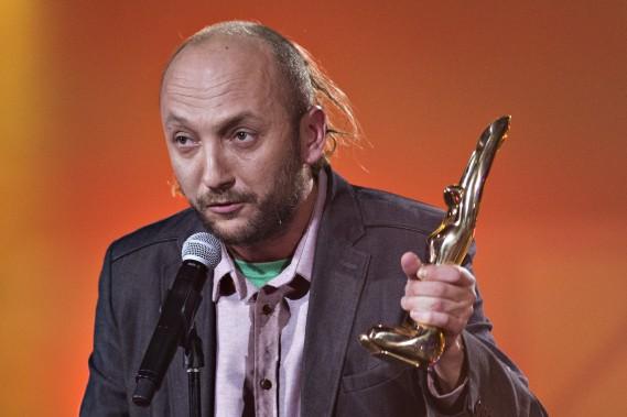 BernardAdamus a réclamé jeudi le prix de l'album alternatif. (La Presse, Olivier Jean)