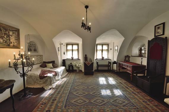 Le château de Bran, véritable «monument» offre exactement ce qu'on attend de lui: il peut aussi bien être romantique que mystérieux. (AFP, Daniel Mihailescu)