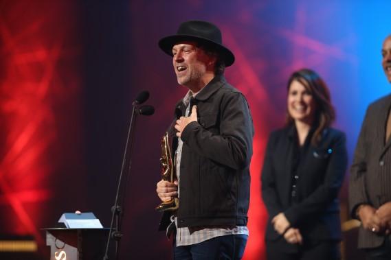 Fred Fortin a été sacré meilleur auteur-compositeur pour son album<em>Ultramarr.</em> (La Presse, Martin Chamberland)
