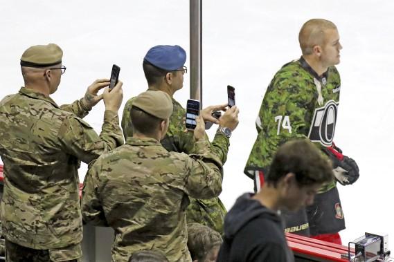 Soirée reconnaissance des forces canadiennes (Patrick Woodbury, LeDroit)