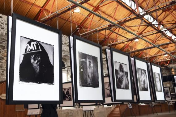 Lors d'une brève rencontre à Cannes, Balint Porneczy a capté ce cliché de Dante, aka Mos Def, un chanteur de hip-hop, acteur et activiste. (Photo Le Quotidien, Rocket Lavoie)