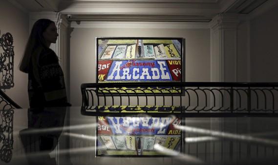La peinture <em>East LA Arcade</em> (AFP, Adrian Dennis)