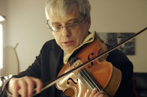 L'altiste Luc Beauchemin (Photo courtoisie, Télé-Québec)