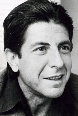 Leonard Cohen, le 30 janvier 1975 (Photo Archives La Presse Canadienne)