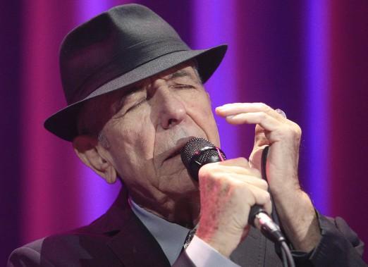 Leonard Cohen en concert au Colisée de Québec le 2 décembre 2012 (Photothèque Le Soleil, Pascal Ratthé)
