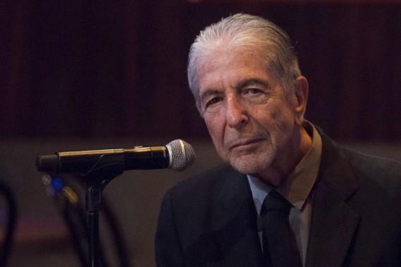 Leonard Cohen lors de la sortie de son album <em>Popular Problems</em>, en septembre 2014 (La Presse canadienne, Charles Sykes)