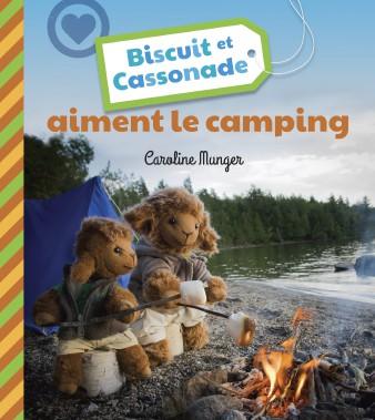Biscuit et Cassonade aiment le camping a été en lice aux prix littéraires lors du dernier Salon du livre du Saguenay-Lac-Saint-Jean dans la catégorie Jeunesse. (Courtoisie)