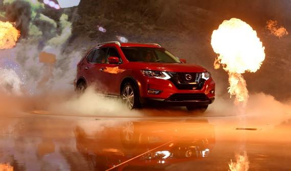 L'humble Nissan Rogue fait l'objet d'une campagne de publicité basée sur Star Wars. (AFP)
