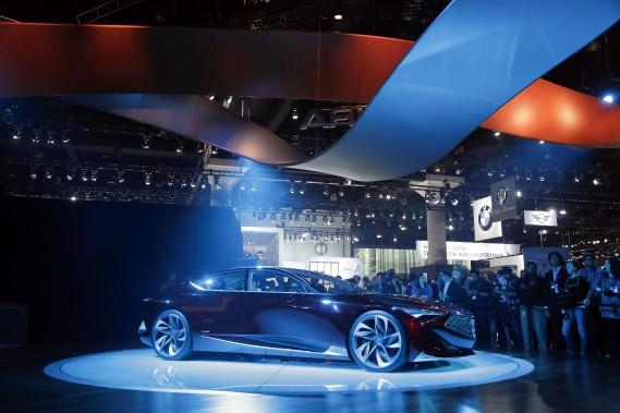 Le prototype Acura Précision. (AP)
