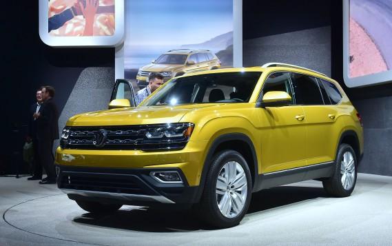 Le nouveau VUS à sept places Volkswagen Atlas. (AFP)