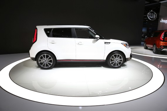 Le Kia Turbo Soul. (E)