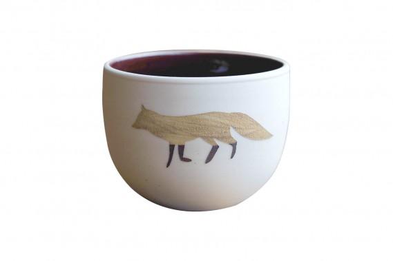 Gobelet en porcelaine fait à la main par l'artiste en céramique de Québec Viviane Leblanc-Brassard, 35 $ (plus frais de livraison) à la boutique en ligne Etsy Épinette Noire (Fournie par Épinette Noire)