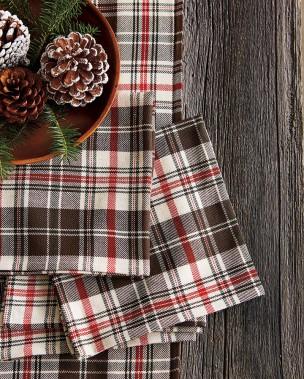 Nappe modèle Rustique de Ricardo L'art de la table, de 34,99 $ à 59,99 $ selon la dimension, dans les boutiques Linen Chest, Aubainerie, Renaud-Bray et Archambault (Fournie par Ricardocuisine.com)