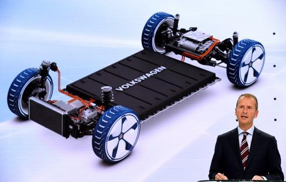 Volkswagen rêve d'être le No 1 mondial de l'électrique dès 2025