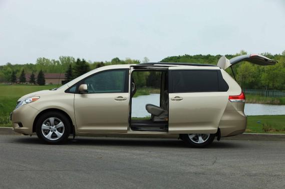 Toyota rappelle 826 000 Sienna en Amérique du Nord
