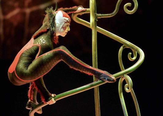 Première du spectacle<em>OVO</em>du Cirque du Soleil à l'amphithéâtre. (Le Soleil, Pascal Ratthé)