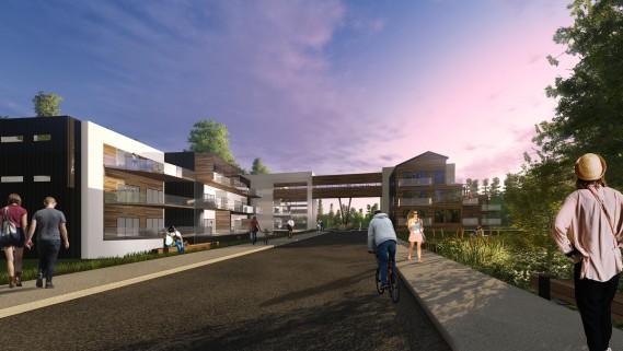 Hôtel du Domaine Sibéria des Bois, Phase 1 (A3 architecture et Steve Girard Designer)