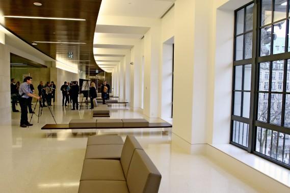 L'édifice a été occupé par la Chambre des communes pour la première fois en 1984. (Patrick Woodbury, Le Droit)