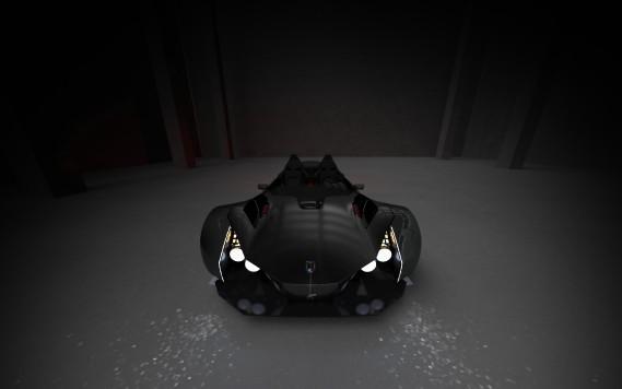 L'Azkarra, esquisse d'un projet de véŽhicule éŽlectrique ˆtrois-roues de la start-up quŽébŽécoise Girfalco. ()