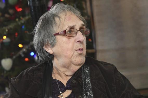Pauline Bouchard est bénévole pour Les Petits Frères depuis bientôt 17 ans. (Photo Le Quotidien, Michel Tremblay)
