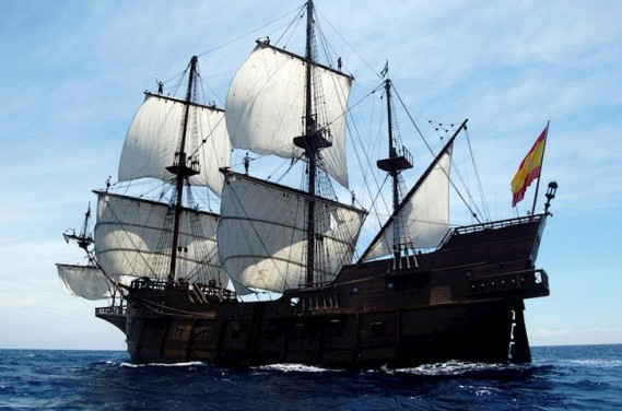 Le El Galeon, un navire de classe A, est la seule réplique des galions espagnols qui, pendant plus de trois siècles, ont assuré le lien entre l'Asie, l'Amérique et l'Espagne. (Photo tirée du site de RDV 2017)