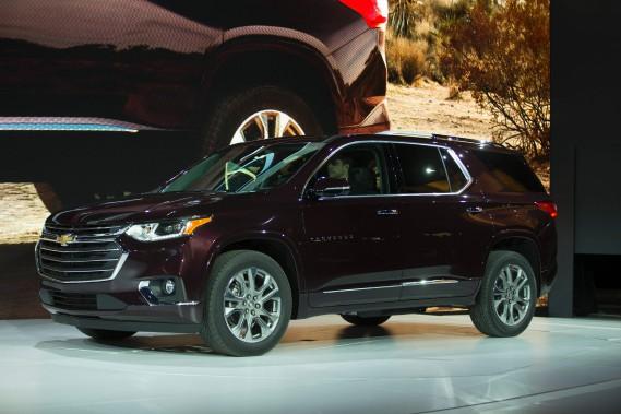 Le Chevrolet Traverse. (AFP)