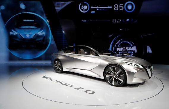 Le prototype Nissan Vmotion 2.0 (REUTERS)