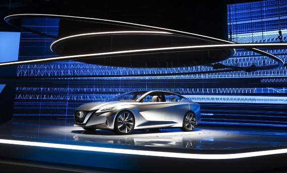 Le prototype Nissan Vmotion 2.0 (AP)