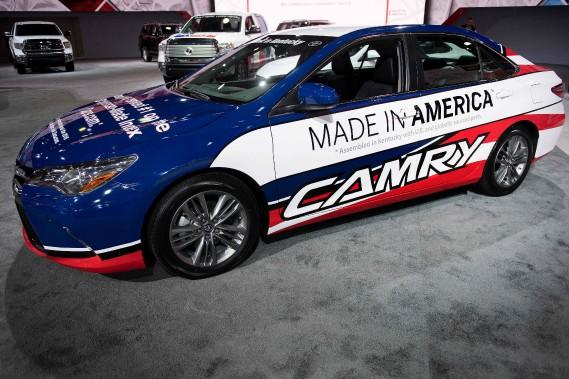 Salon de l'auto de Detroit: les constructeurs étrangers sont des nationaleux américains