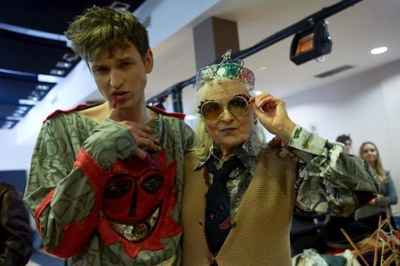 La designer britannique Vivienne Westwood (AFP)